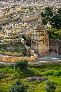 Absalom's Tomb in Kidron Valley