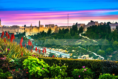 Colors of Jerusalem