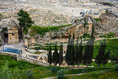 Monumental Tombs in Kidron Valley