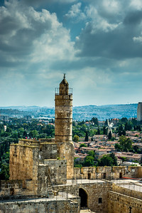 Tower of David and Yemin Moshe