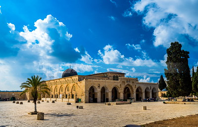 Al Aqsa Mosque, the Temple Mount