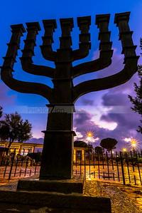 The Knesset Menorah