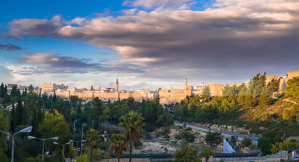 Jerusalem in the sunlight