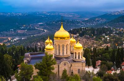 Russian Orthodox church in Ein Karem