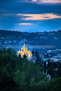 Russian Orthodox Church of Mary Magdalene, Mount of Olives, Jerusalem