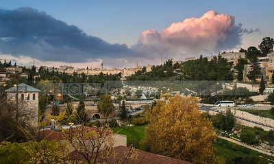 Jerusalem in the fall