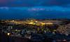Old City Jerusalem in twilight