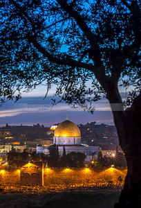Dome of the Rock and the Golden Gate