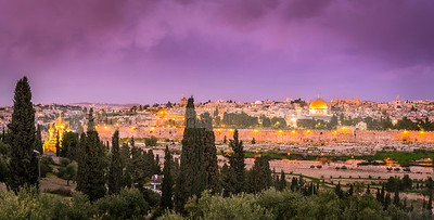 Jerusalem view from Mount of Olives