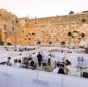 Western Wall prayers during coronavirus