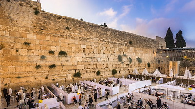 Western Wall prayers during coronavirus