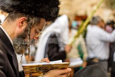 Man Reading Psalms