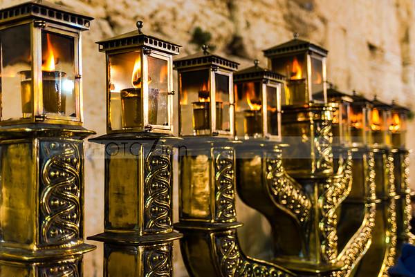 Hanukkah at the Western Wall