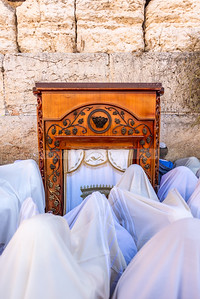 Aaronic blessing at the Western Wall