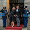 King Willem-Alexander and Queen Maxima keep the traditional Nieuwjaarsontvangst
