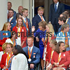 21-09-2016 Paralympische sporters at audientie by King Willem Alexander