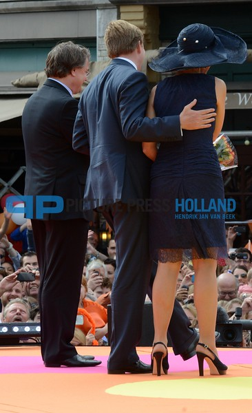 King and Queen visiting the provincie Noord-Brabant and the provincie Limburg