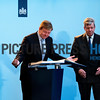 King Willem-Alexander opened the new building of the ministeries of Interior and National Security