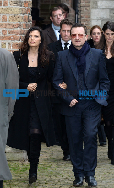 02-11-2013 Delft Memorial service for Prince Friso in the Oude Kerk ( Old Church) in Delft.