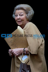 New Years Reception King Willem-Alexander - Princess Beatrix
