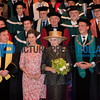 Princess Beatrix visits 100 year jubilee of the Erasmus University