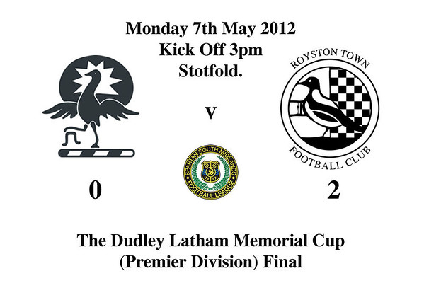 Dudley Latham Memorial Cup.