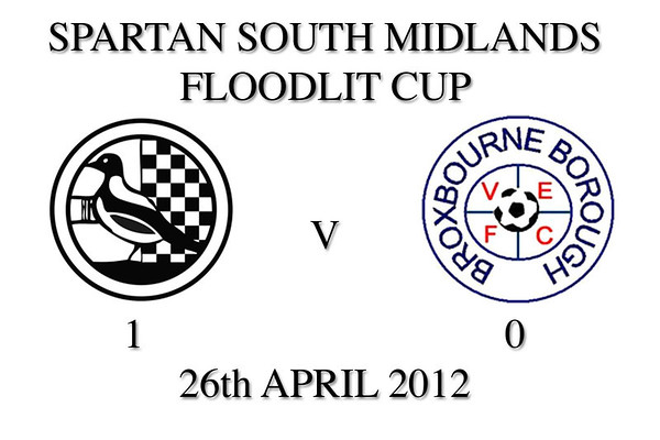 SSM Floodlit Cup Final 2012