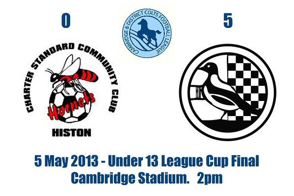 Cambridge & District Colts U13 Cup Final