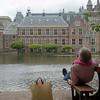 Relax met uitzicht op het parlement