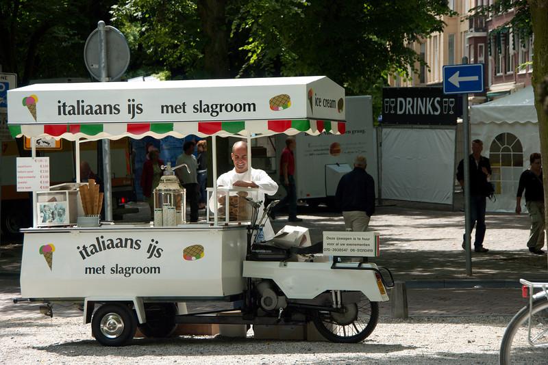 Italiaans ijs met slagroom?