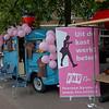 Nieuw bord van FNV Roze