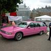 Hmm, roze begrafenis?