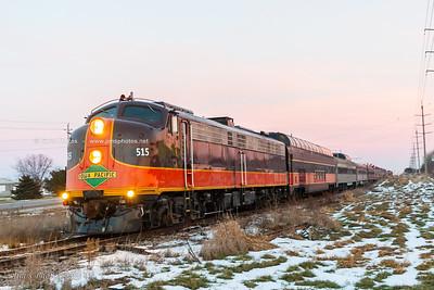 Wis & Southern Railroad - 2014 Polar Express