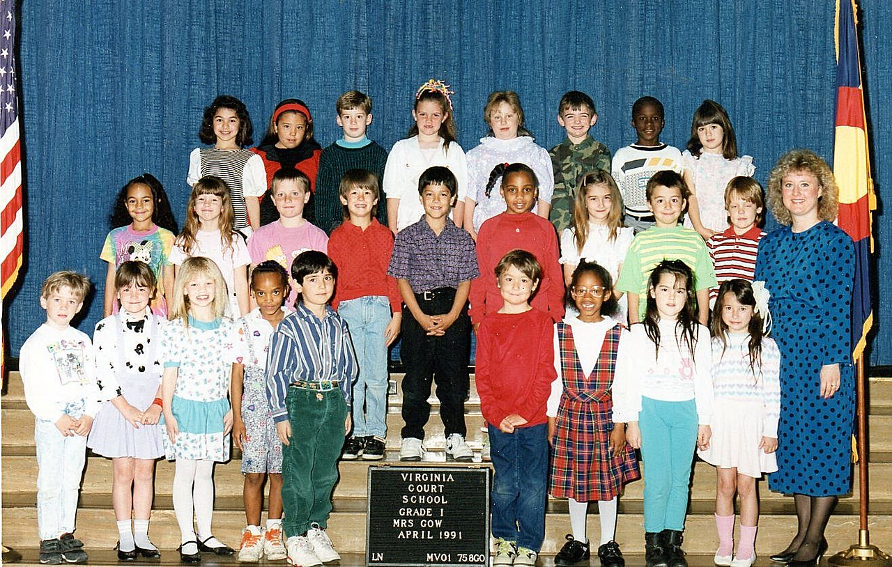Patrick Middle Row, next to the Teach. Just look for red hair