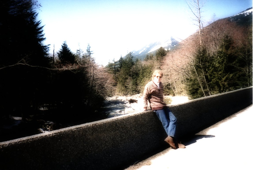 Me in just outside Seattle