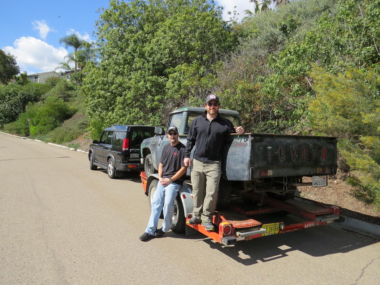 Vincent Facilla  and Steve Martini Off to Mexico