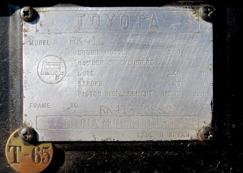 Toyota Stout RK41L
