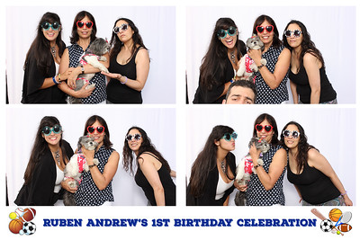 Ruben Andrew's First Birthday