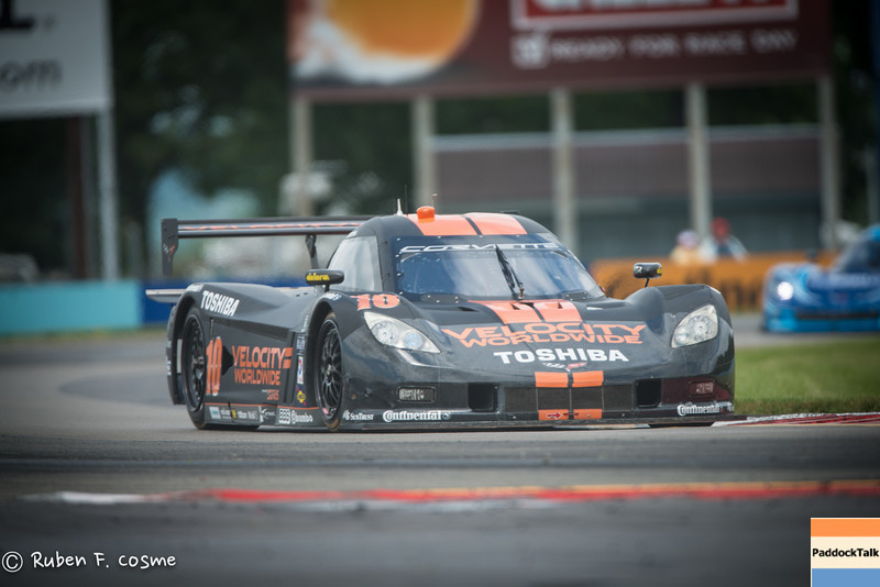 Grand-AM Rolex Series #10 Wayne Taylor Racing Corvette DP will start from Pole on Sunday.