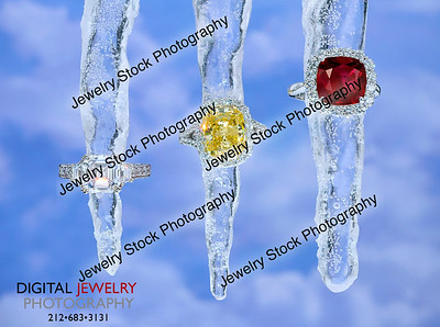 3 Diamond Rings Group Icicles Lifestyle