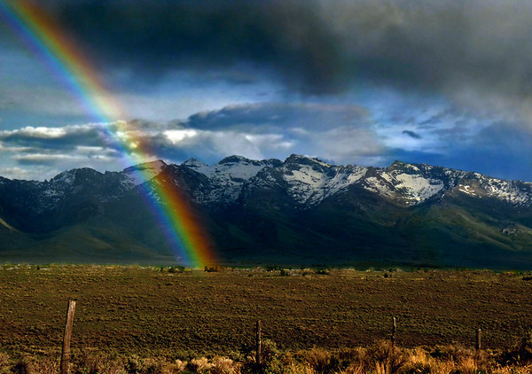 Ruby Mountains Sunsets & Rainbows