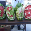 Watermelon sculptures