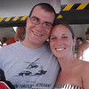 Josh & Samantha on the tender with us to Princess Cays