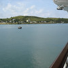 View of Antigua from starboard side
