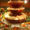 Sailaway seafood buffet in Horizon Court - shrimp display