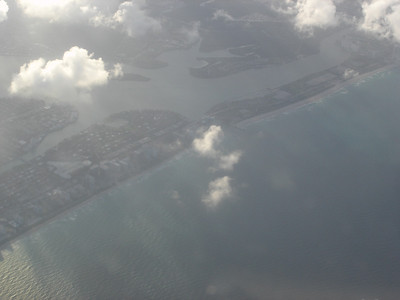 Goodbye beautiful FL coast and beaches!