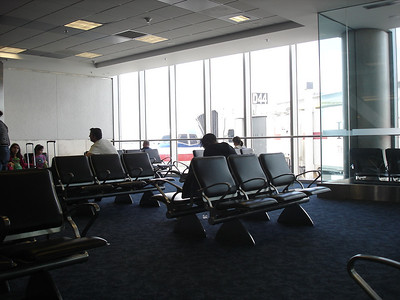 Waiting at the gate for way too many hours