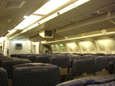 Our plane - 2/3/2 seats configuration
