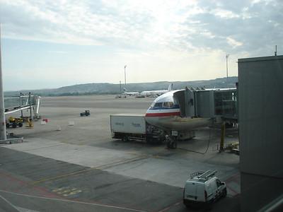 Goodbye plane! I can't say it was fun.