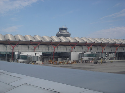 Taxiing forever at Madrid-Barajas